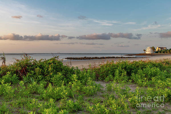 Photograph - Southern Exposure Breach Inlet Sunrise by Dale Powell
