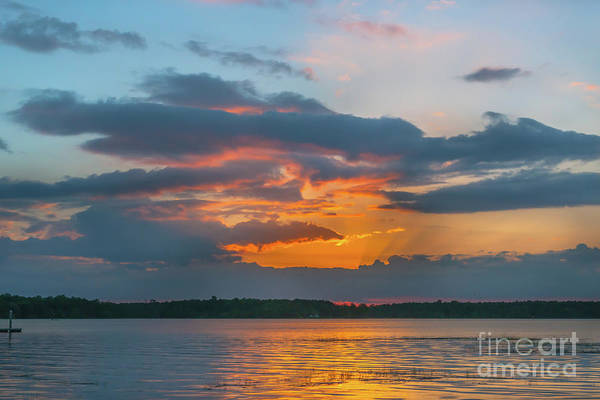 Photograph - Southern Exposure - Wando River Sunset by Dale Powell