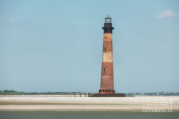 Photograph - Southern Sand - Morris Island Lighthouse by Dale Powell