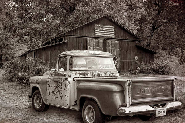 Photograph - Southern Sepia Vintage by Debra and Dave Vanderlaan
