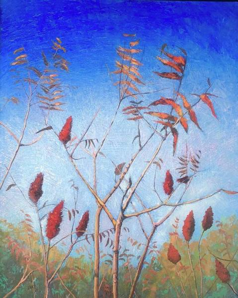 Painting - Southern Sumac by Jeanette Jarmon