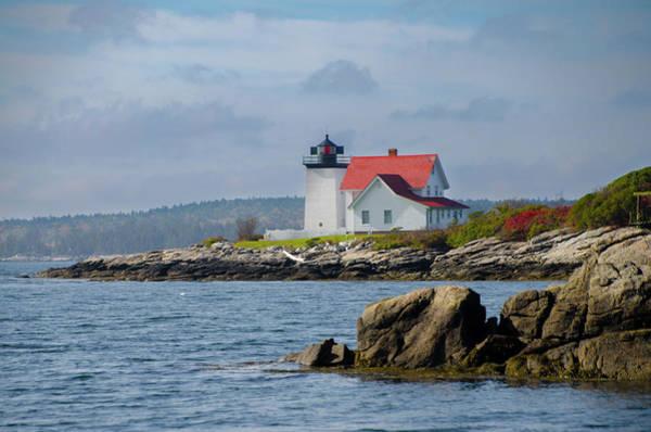 Photograph - Southport Maine - Hendricks Head Lighthouse by Bill Cannon