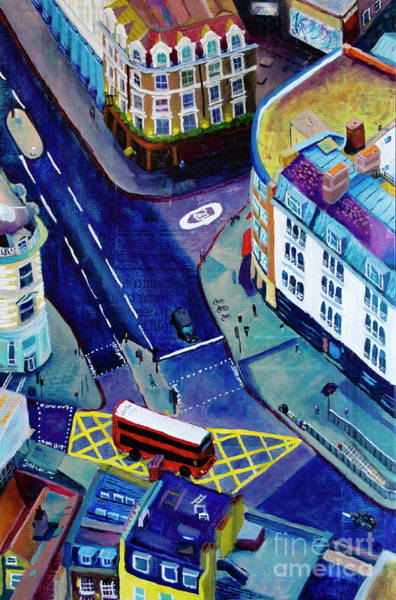 Traffic Signals Painting - Southwark And Stoney by Marina McLain