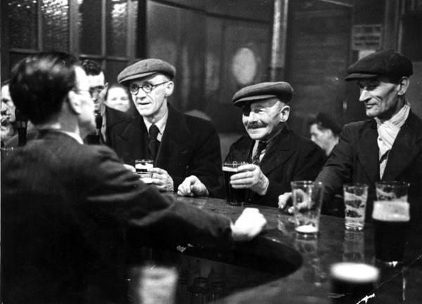 Photograph - Southwark Pub by Bert Hardy