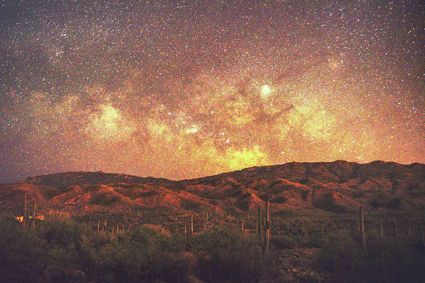 Photograph - Southwest Night Sky by Chance Kafka