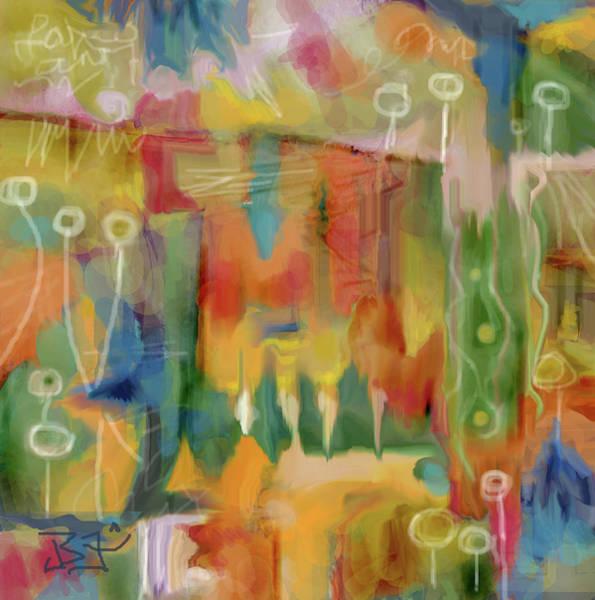 Digital Art - Southwest Summer by Jean Batzell Fitzgerald