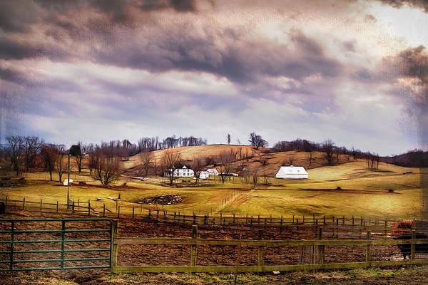 Farmstead Photograph - Southwest Virginia Vista by Jim Love
