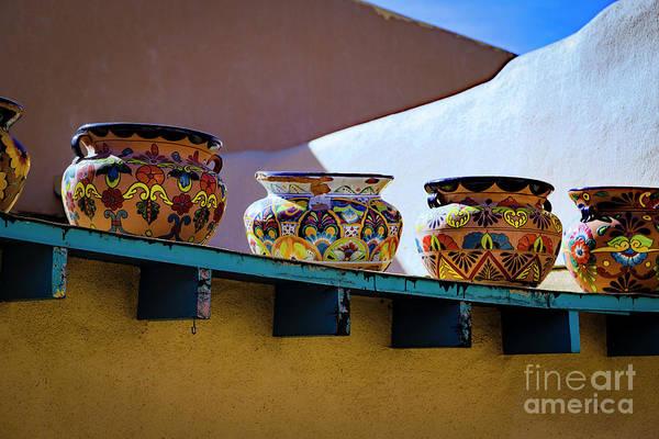 Photograph - Southwestern Bowls by Jon Burch Photography