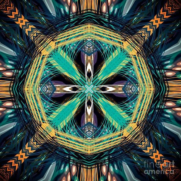 Digital Art - Southwestern Inspired Digital Design  by Sheila Wenzel
