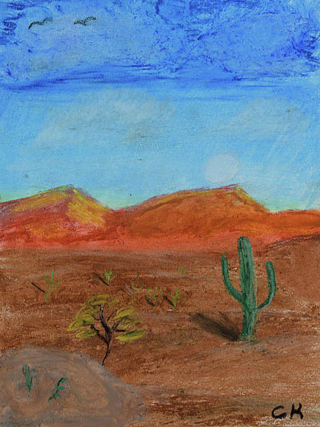 Pastel - Southwestern Pastel by Chance Kafka