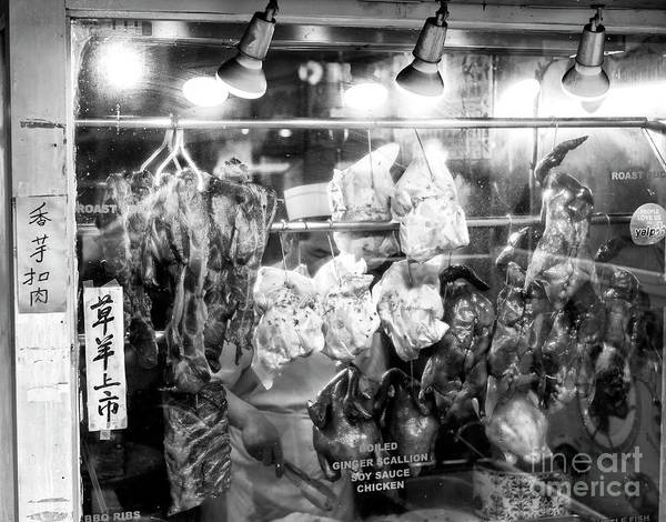 Photograph - Soy Sauce Chicken In Chinatown New York City by John Rizzuto