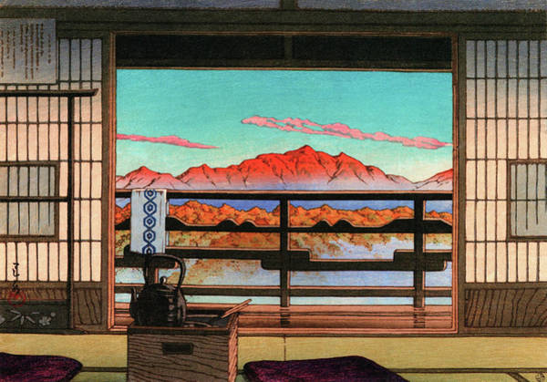 Wall Art - Painting - Spa Hotel Morning - Digital Remastered Edition by Kawase Hasui