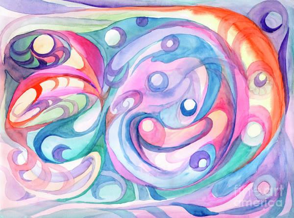 Painting - Space Abstract by Irina Dobrotsvet