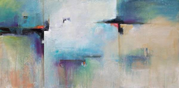 Wall Art - Painting - Space Between  by Karen Hale
