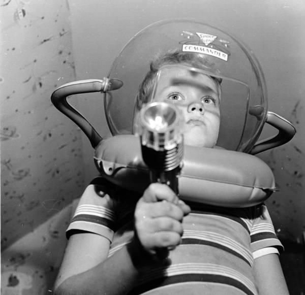 Space Gun Photograph - Space Cadet by Orlando