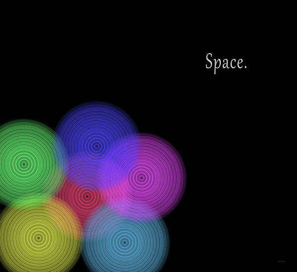 Wall Art - Digital Art - Space In Color by Betsy Knapp