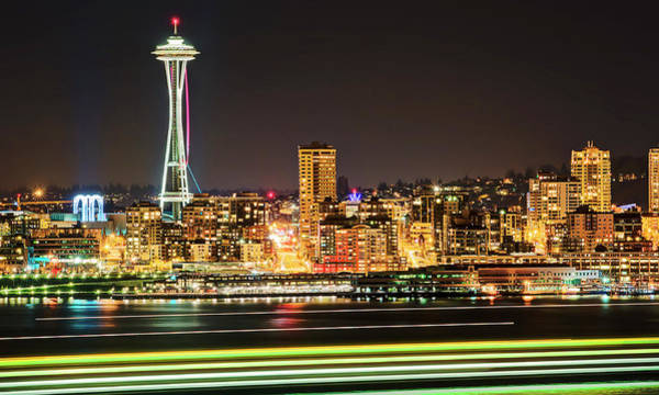 Photograph - Space Needle by Stephen Kacirek