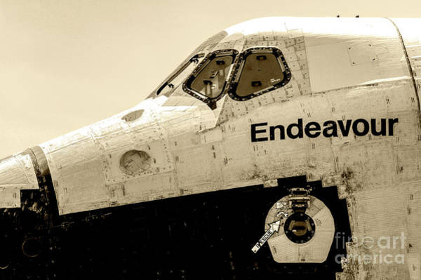 Wall Art - Photograph - Space Shuttle Endeavour 30 by Micah May