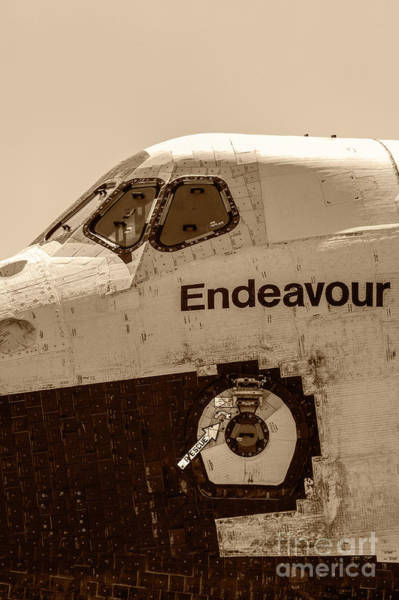 Wall Art - Photograph - Space Shuttle Endeavour 31 by Micah May