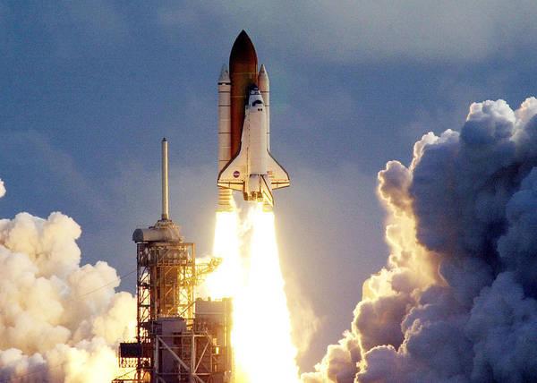 Wall Art - Digital Art - Space Shuttle Launch by Filip Hellman