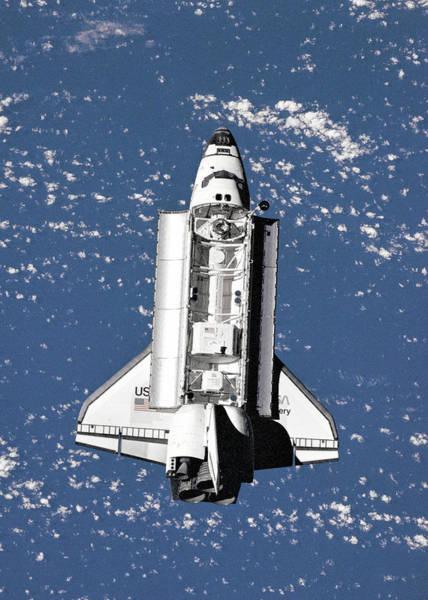 Wall Art - Digital Art - Space Shuttle Open by Filip Hellman