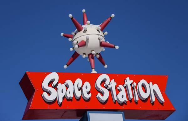 Photograph - Space Station by Rand