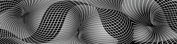 Painting - Space-time No-1, Black And White by David Arrigoni