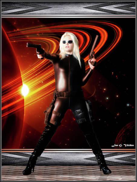 Photograph - Space Widow by Jon Volden