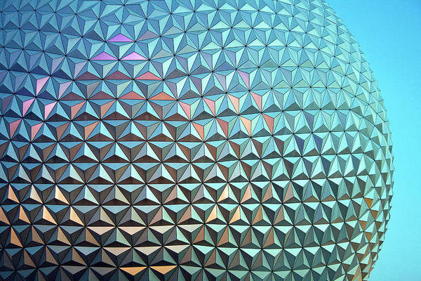 Epcot Center Wall Art - Photograph - Spaceship Earth by Cora Wandel
