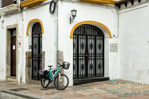 Wall Art - Photograph - Spain Bicycle by Timothy Hacker