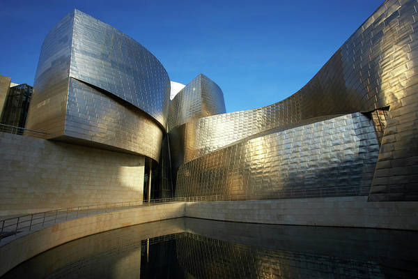 Guggenheim Photograph - Spain, Bilbao, Guggenheim Museum And by Allan Baxter