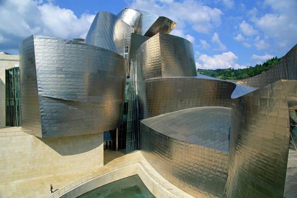 Guggenheim Wall Art - Photograph - Spain, Bilbao, Guggenheim Museum by Donald Nausbaum