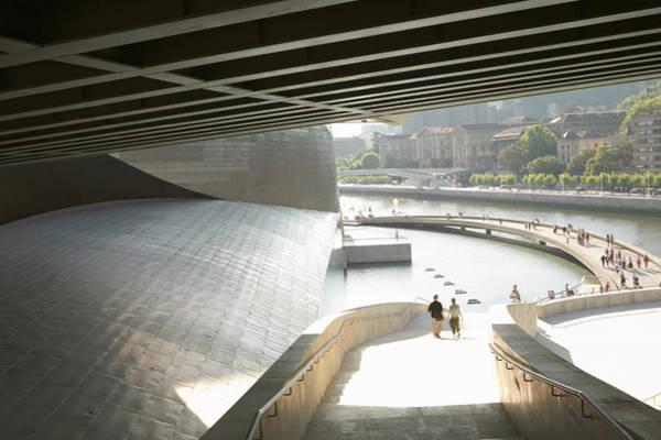 Bilbao Photograph - Spain, Bilbao, Guggenheim Museum by Pnc