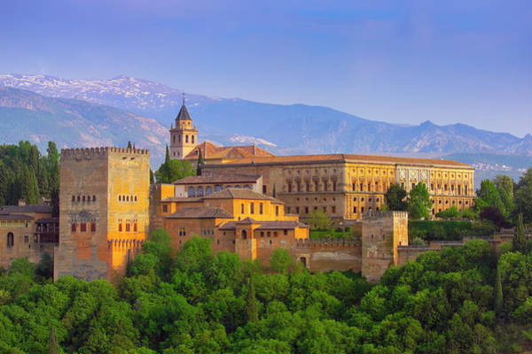 Granada Wall Art - Photograph - Spain, Granada Province, Granada, The by Alan Copson