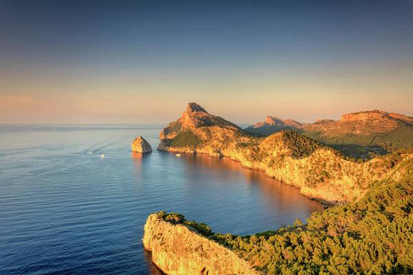 Headlands Photograph - Spain, Mallorca, Cap De Formentor by Michele Falzone