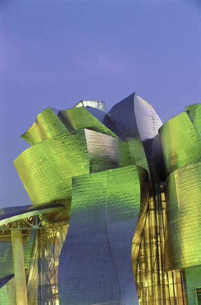 Bilbao Photograph - Spain, Vizcaya, Bilbao, Guggenheim by John W Banagan