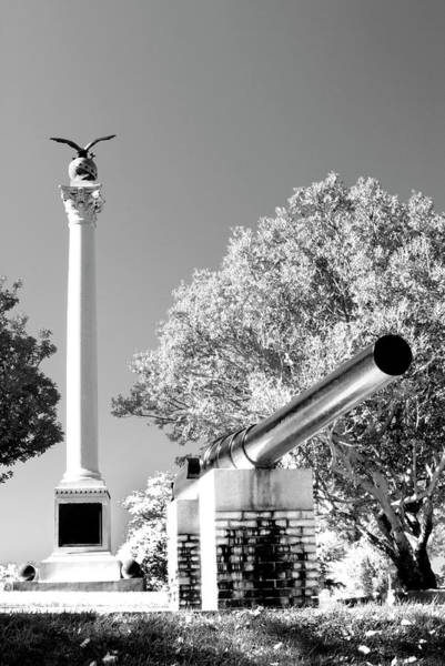 Photograph - Spanish American War Monument And Gun by Paul W Faust - Impressions of Light