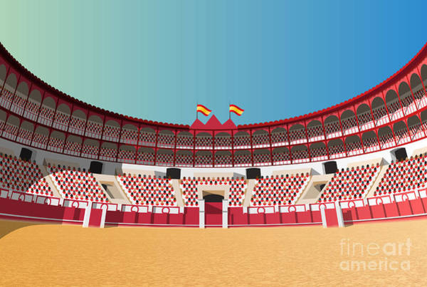 Wall Art - Photograph - Spanish Bullfight Arena by Nikola Knezevic
