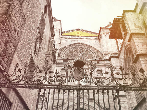 Photograph - Spanish Courtyard by JAMART Photography