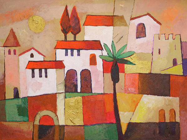 Wall Art - Painting - Spanish Evening by Lutz Baar