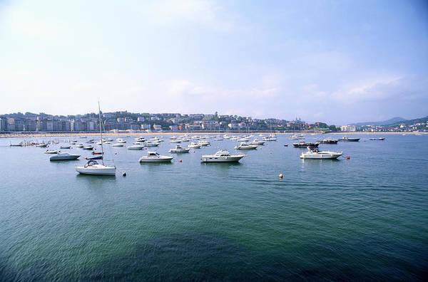San Sebastian Photograph - Spanish Harbor by Ryan Mcvay
