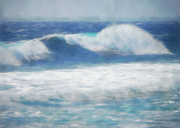 Wall Art - Mixed Media - Spanish Sea by Amanda Lakey