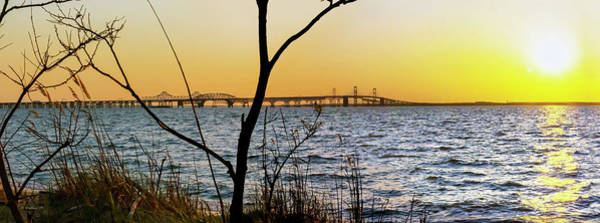 Wall Art - Photograph - Spanning The Bay At Sunset by Brian Wallace