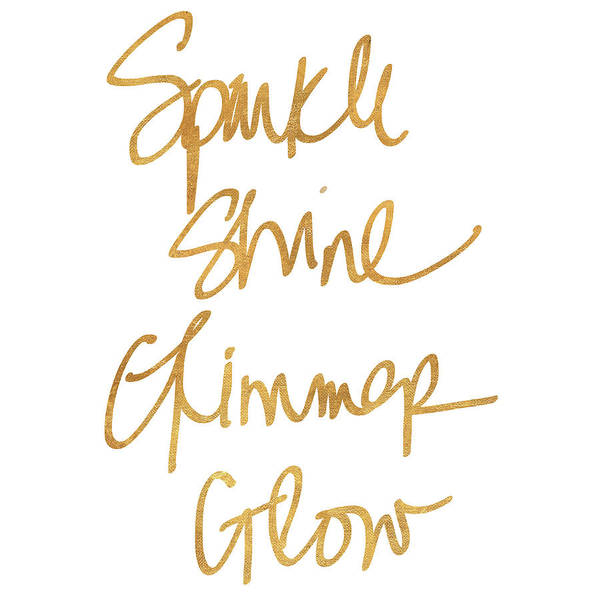 Shining Painting - Sparkle, Shine, Glimmer, Glow by Sd Graphics Studio
