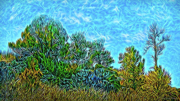 Digital Art - Sparkling Hillside Dream by Joel Bruce Wallach