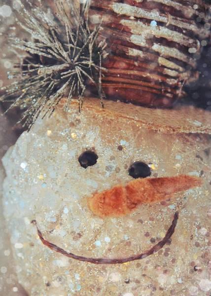 Photograph - Sparkling Snowman by Jamart Photography