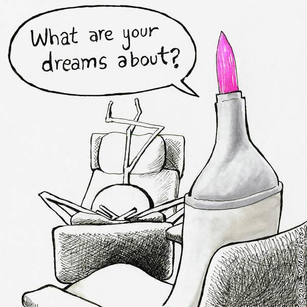 Painting - Speak Your Dreams by Miko Zen