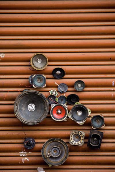 Bangalore Photograph - Speakers On Shutter by Suyog Gaidhani