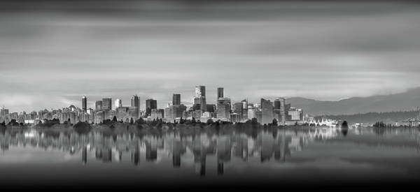 Photograph - Special View Of Downtown Vancouver by Juan Contreras