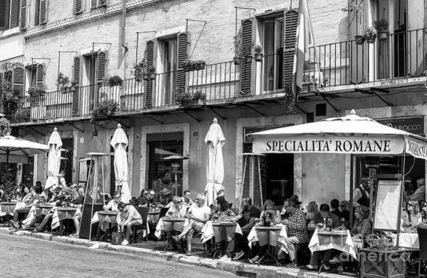 Photograph - Specialita Romane At Piazza Navona In Rome by John Rizzuto